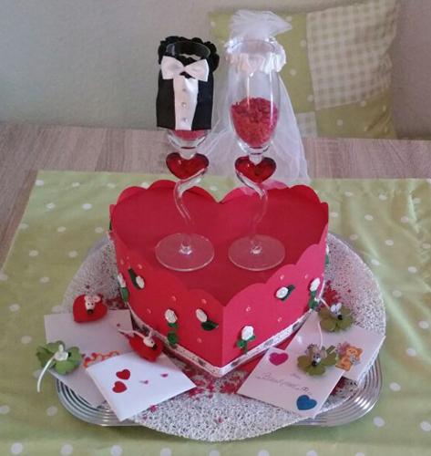 Cabris Kreativblog Craft Update 1 Hochzeitstorten